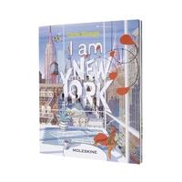 MOLESKINE LIMITED EDITION NOTEBOOK I AM NEW YORK, LARGE, RULED, WHITE, HARD COVER (5 X 8.25)