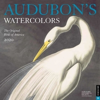 AUDUBON'S WATERCOLORS 2020 WALL CALENDAR: THE ORIGINAL BIRDS OF AMERICA