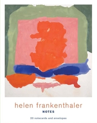 HELEN FRANKENTHALER NOTES: 20 NOTECARDS AND ENVELOPES