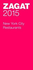 NEW YORK CITY RESTAURANTS 2015
