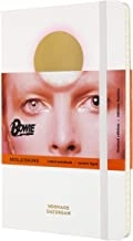MOLESKINE LIMITED EDITION NOTEBOOK DAVID BOWIE, LARGE, RULED, WHITE (5 X 8.25)