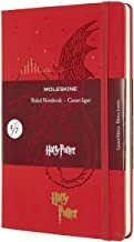MOLESKINE LIMITED EDITION NOTEBOOK HARRY POTTER, LARGE, RULED, BOOK 4, GERANIUM RED (5 X 8.25)