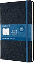 MOLESKINE BLEND LIMITED COLLECTION NOTEBOOK 2019, LARGE, RULED, BLUE (5 X 8.25)