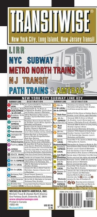 TRANSITWISE NEW YORK, NEW JERSEY METRO TRANSIT MAP: LIRR NYC